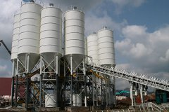 HZS125 Concrete Batching Plant