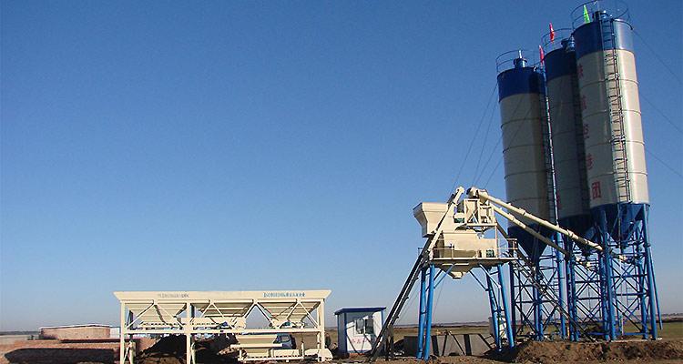 China Made Concrete Batching Plant Capacity Hzs25 25 M3/h