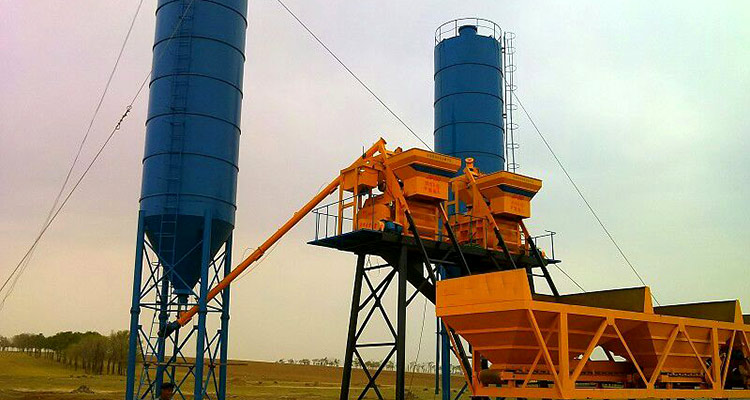 2HZS60Concrete Batching Plant